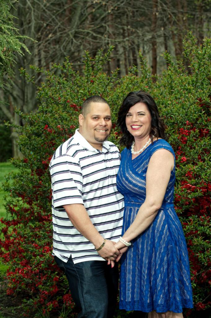 Karla & Miguel's Engagement photos at Schoepfle Gardens Birmingham, Ohio