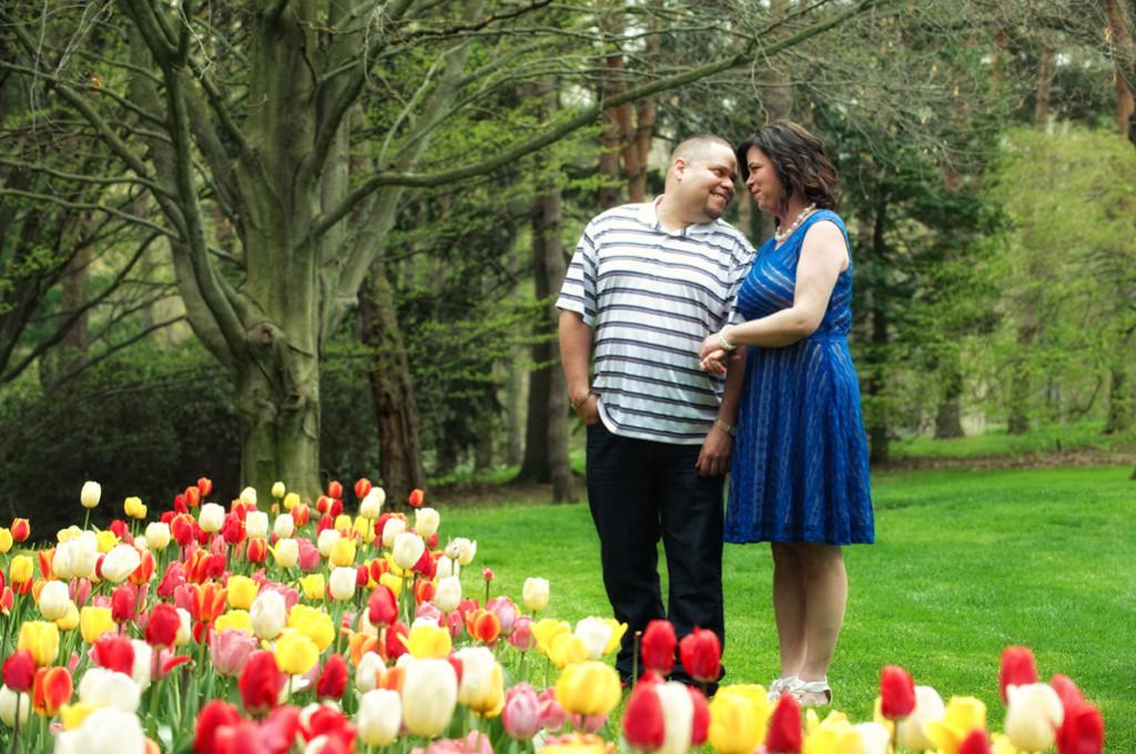 Schoepfle Garden engagement