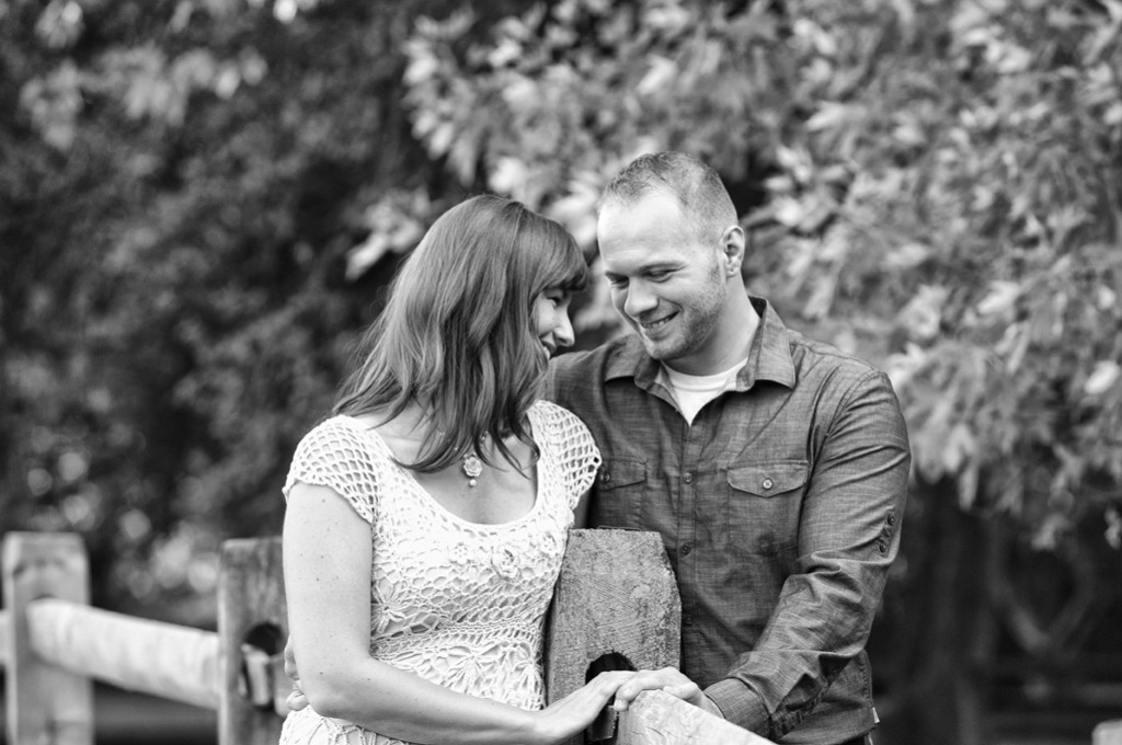 natalie and adam engagement photos at penitentary glen kirtland, ohio