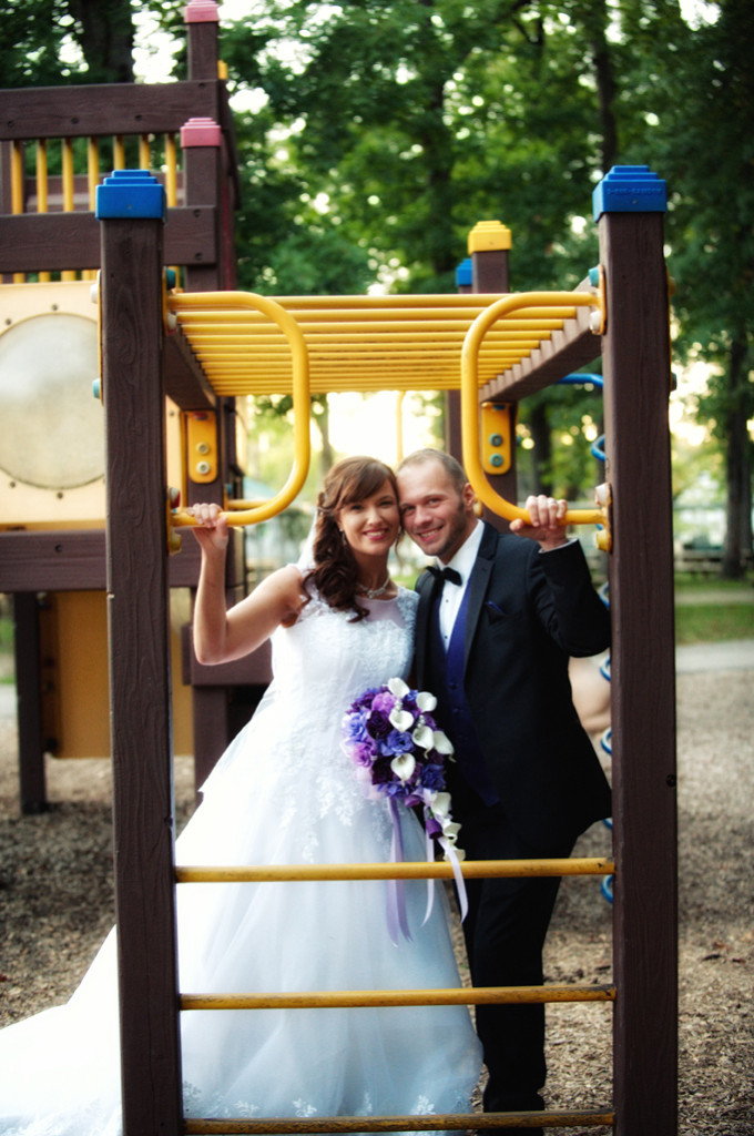 Natalie and Adam Wedding at the Cleveland Metroparks Zoo